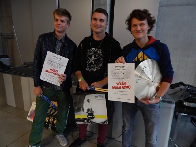 Laureaci: Grzegorz Chwaliński, Jeremiasz Baum i Miłosz Berdzik.