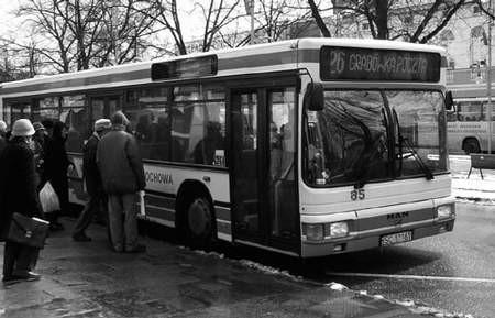 W 17 autobusach kierowcy będą informować o przystankach. fot. JAKUB MORKOWSKI