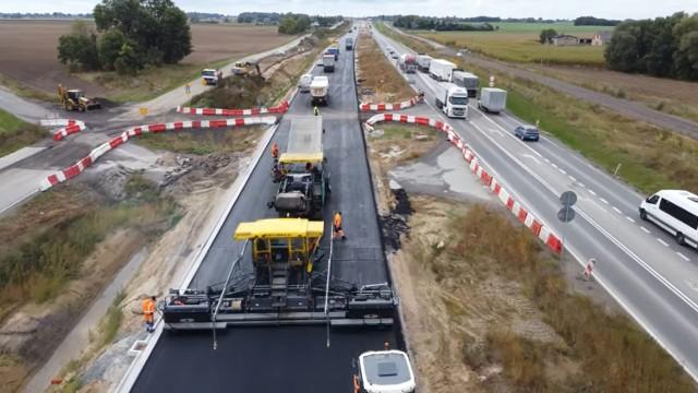 Budowany odcinek drogi S5 Świecie Południe - Bydgoszcz Północ połączy obwodnicę Świecia z północną częścią obwodnicy Bydgoszczy.