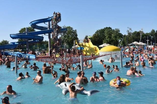 W weekend otwarcie basenu Ruda. Ale takich tłumów już raczej nie będzie