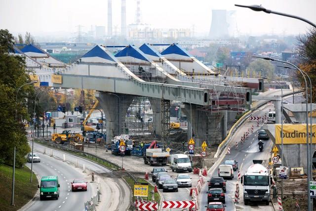 Budowa łącznicy kolejowej Zabłocie - Krzemionki