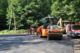 Powiat wałbrzyski remontuje kolejne drogi. Zdjęcia
