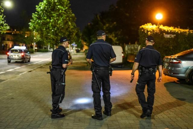 Poszukiwania policyjnej broni w Poznaniu