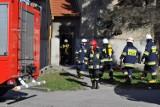 Śrem: straż pożarna interweniowała w kamienicy przy ul. Mickiewicza [FOTO]