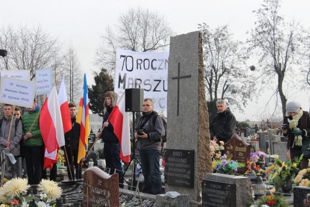 Żorzanie uczcili 70. rocznicę marszu śmierci