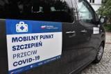Szczepieniobus w Radomsku. Wkrótce zaparkuje przy miejskim targowisku. Szczepienia preparatem J&J