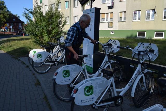 Rower miejski w Szczecinku, zdjęcia archiwalne