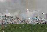 Kolejny pożar na wysypisku śmieci w Krzyżanówku!