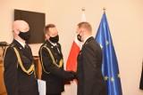 Jest nowy  komendant powiatowy straży pożarnej w Zduńskiej Woli ZDJĘCIA