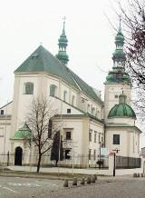 Interwencja strażaków w bazylice katedralnej w Łowiczu
