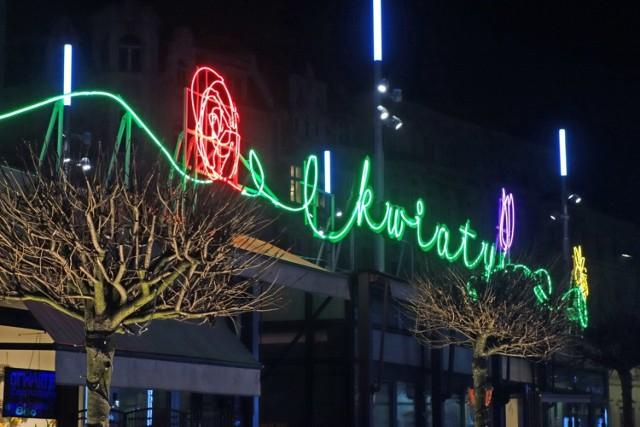 Nowe neony w Katowicach