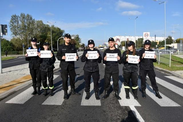 Europejski Dzień bez Ofiar Śmiertelnych w Legnicy.