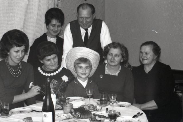 Sieradzka rodzina w latach 60