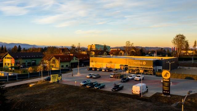 Nowy sklep Netto w Cieszynie znajduje się przy ul. Motelowej 20.