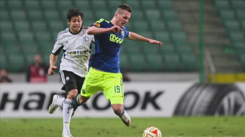 Arkadiusz Milik doznał kontuzji w trakcie meczu Ajax...