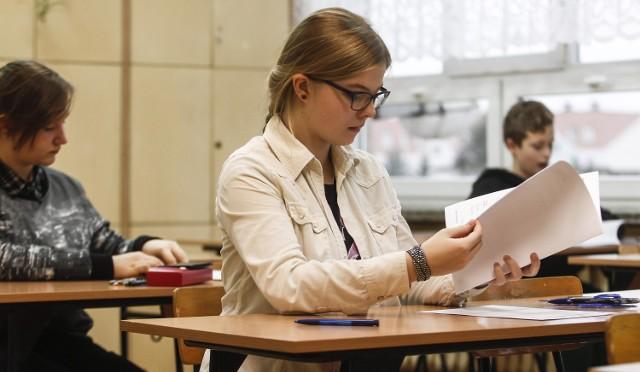 Egzamin gimnazjalny 2015 startuje we wtorek
