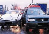 Oborniki - Uderzył w kierowcę, który miał promile