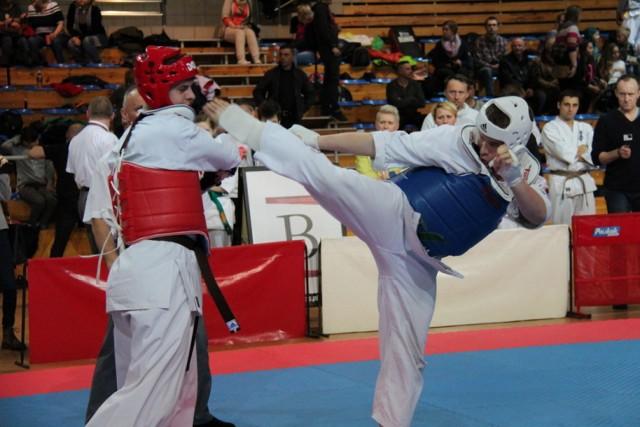 Mistrzostwa Makroregionu Śląskiego w Karate Kyokushin w hali Centrum