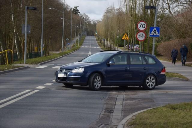 Na tym odcinku ulicy Kościuszki w Szczecinku nie pojedziemy już 70 km/h