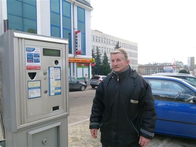 Sylwester Radziszewski jest niemile zaskoczony zmianami w strefie płatnego parkowania