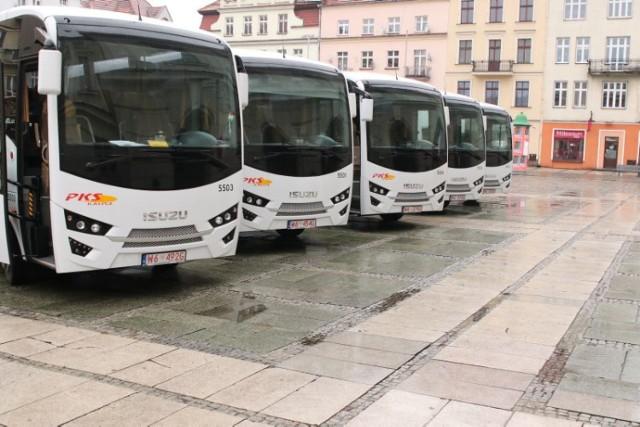PKS w Kaliszu kupiło pięć nowych autobusów