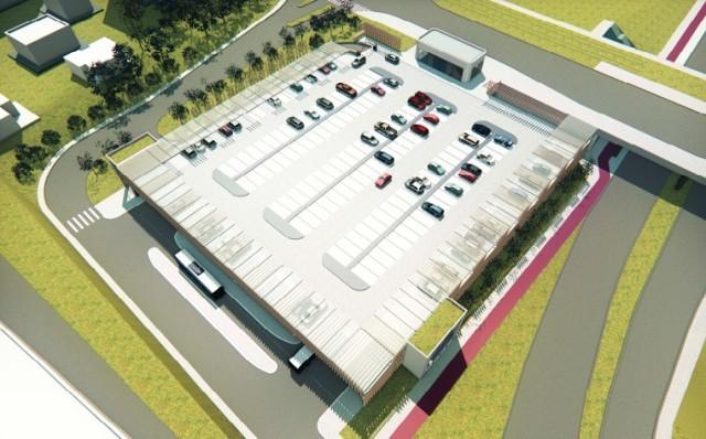 W Bronowicach ma powstać węzeł przesiadkowy parking park&ride na ok. 200 samochodów.