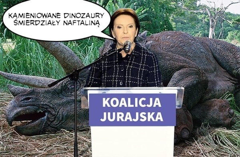 Ewa Kopacz O Ludziach I Dinozaurach Memy Hitem Internetu