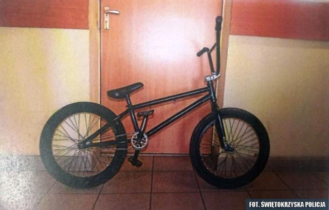 Rower skradziony w Jedrzejowie został odzyskany na Śląsku