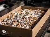 Wpadli podczas przeładunku nielegalnych wyrobów tytoniowych w Piekarach Śląskich