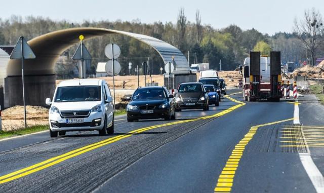W związku z budową drogi ekspresowej S5 na odcinku Dworzysko-Aleksandrowo w piątek od godz. 10 wprowadzona została nowa czasowa organizacja ruchu.