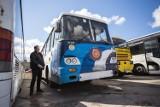 Autobus PKS Słupsk wylicytowany na WOŚP pojechał do Lęborka [ZDJĘCIA, WIDEO]