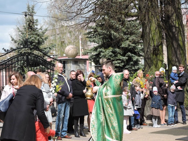 Niedziela Palmowa w parafii pw. Narodzenia NMP w Bielsku Podlaskim