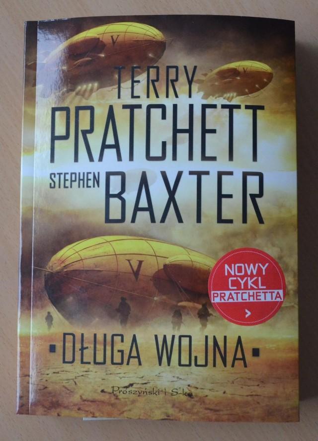 """Wygraj książkę """"Długa wojna"""" Terry'ego Pratchetta"""