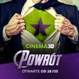 LESZNO. Kino Cinema 3D zaprasza już od piątku 28 maja