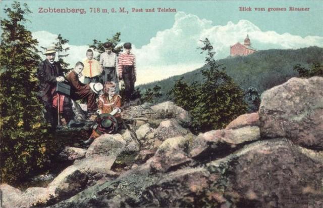 Ślęża i jej okolice 100 lat temu