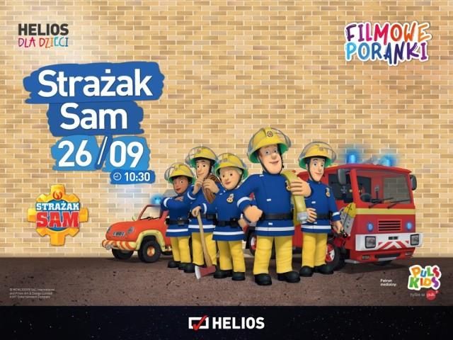 Podczas najbliższego  Filmowego Poranka dzieci zobaczą bajki ze Strażakiem Samem w roli głównej
