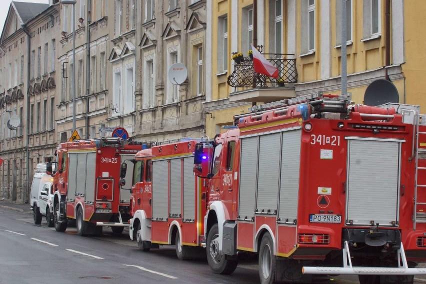 W kamienicy przy ulicy Stawiszyńskiej w Kaliszu zawalił się...