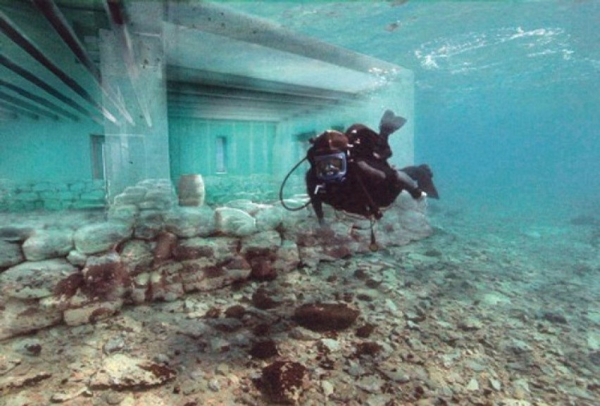 Pawlopetri, najstarsze podwodne miasto świata...
