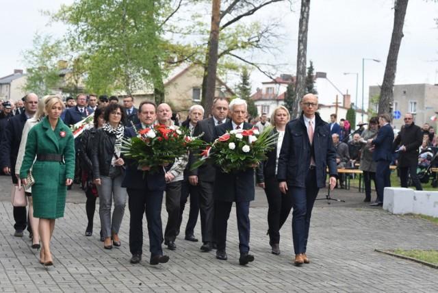 Uroczystość z okazji Święta Narodowego 3 Maja w Lublińcu 3.05.2019.