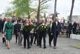 Obchody Święta Narodowego 3 Maja 2019 w Lublińcu ZDJĘCIA Główne uroczystości zorganizowano na cmentarzu wojskowym