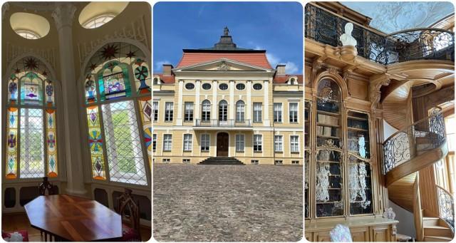 Pałac w Rogalinie - była siedziba Raczyńskich. obecnie oddział Muzeum Narodowego w Poznaniu