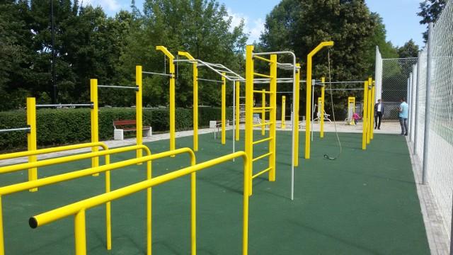 Street workout park to jedna z inwestycji zrealizowanych w ramach III edycji budżetu obywatelskiego