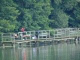Jezioro Margonińskie. Pomost nad jeziorem może postawić każdy. Takie prawo