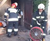 Pożar kotłowni na Niesiołowskiego