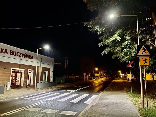 Lampy z pewnością poprawią bezpieczeństwo na przejściu dla pieszych