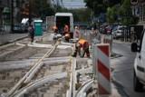 Rusza betonowanie na Lubicz. Kiedy pojadą znów tramwaje?
