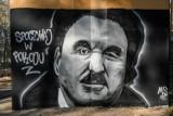 Gdynia: Mural upamiętniający Krzysztofa Krawczyka. Powstał na jednym z filarów Trasy Kwiatkowskiego