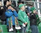 Na meczu Śląsk - Arka dzieci uczyły się dopingu (ZDJĘCIA)