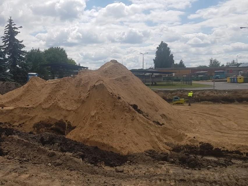 W Bielsku Podlaskim powstaje nowy punkt Selektywnego Zbierania Odpadów Komunalnych (zdjęcia)