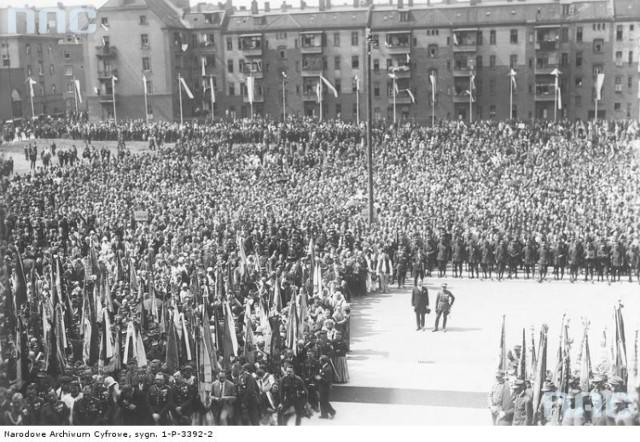 Plac Sejmu Śląskiego przed wojną
